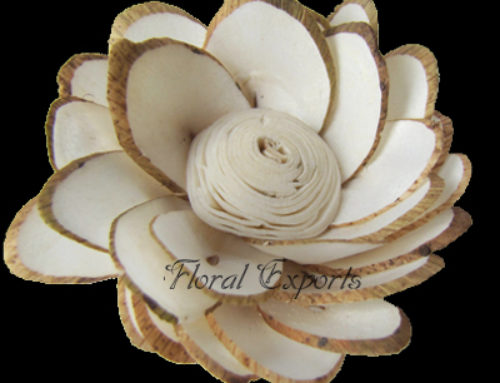 SOLA CHIP HALF KADAM FLOWER – Sola Wood Flowers Manufacturer