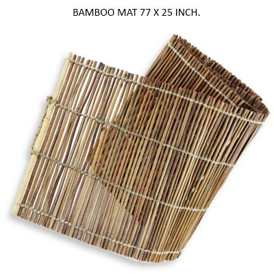 BAMBOO MAT 77 X 25 INCH.