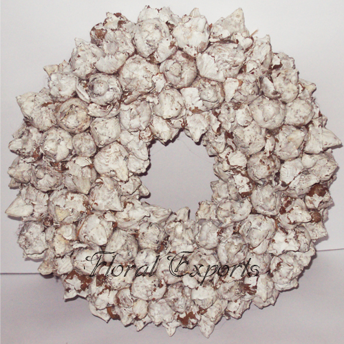 COCO FRUIT WREATH FOSTED COLOUR