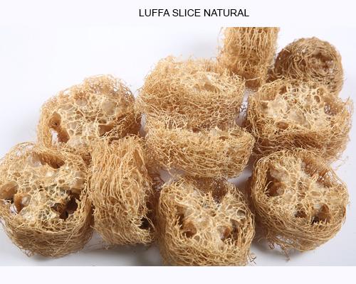 LUFFA SLICE NATURAL