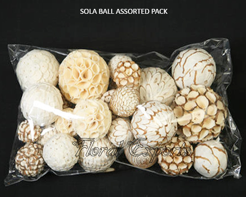 SOLA BALL ASSORTED PACK.