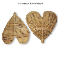 Lata Heart & Leaf Head