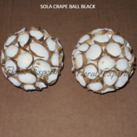 SOLA CRAPE BALL BLACK